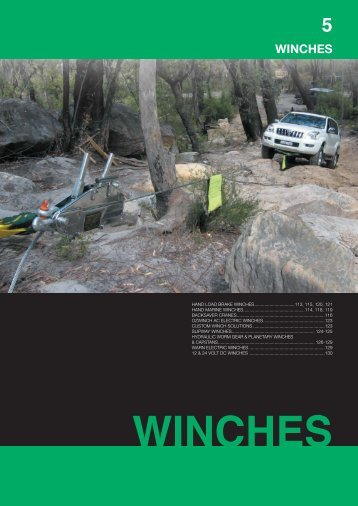 WINCHES - Hoisting Equipment Specialists