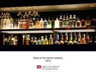 State of the Spirits Industry 2013 - Demeter Group Investment Bank