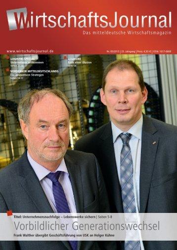 Ausgabe 05/2013 - Wirtschaftsjournal