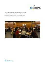 Protokoll Workshop I - Gemeinde Allschwil