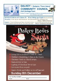 Dec/Jan - Dalkey Community Council