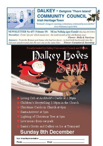 Dec/Jan - Dalkey Community Council