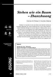 Interview mit Professor Yu Yong Nian - Chi Kung
