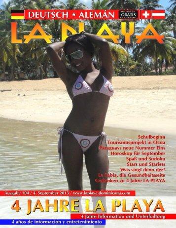 Tourismusprojekt in Ocoa - LA PLAYA magazin