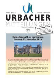 Bundestagswahl am kommenden Sonntag, 22. September 2013