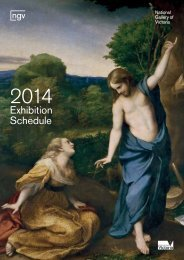 Download the 2014 exhibition program - NGV Media - Vic.gov.au