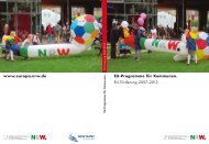 EU-Programme für Kommunen. EU-Förderung 2007–2013. www ...
