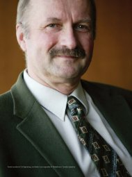 Formerly president of Colt Engineering, Larry Benke is now ...