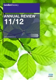annual review 11/12 - London Deanery