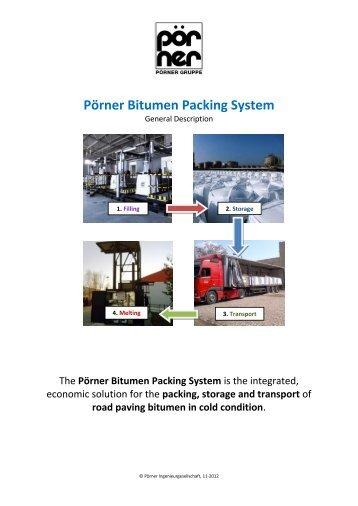 Pörner Bitumen Packing System