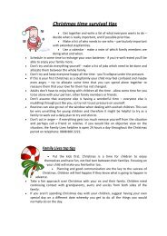Christmas time survival tips - Isle of Wight Council