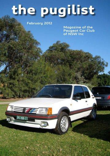 The Pugilist February 2012 - Peugeotclub.asn.au