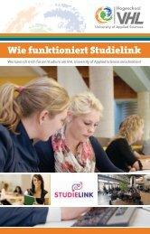 Studielink Anleitung - Van Hall Larenstein