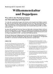 22. September 2013, Bundestagswahl - Deutschland und die Welt