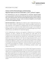 Grünes Licht für Himmelstreppe und Hennestieg - die regionale 2013