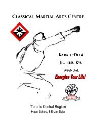 Karate Catalog 2011 pdf - United Martial Arts of Maryland