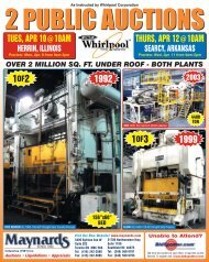 Whirlpool Brochure - Maynards Industries