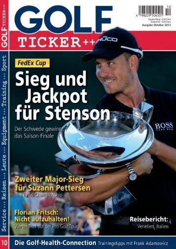 Ausgabe Oktober 2013 - Golf Ticker