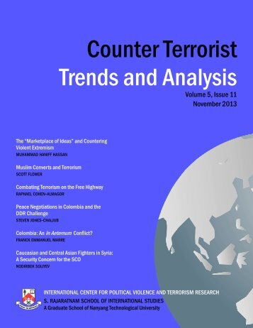Latest Issue - Counter Terrorist Trends and Analysis