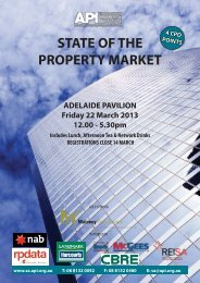Download Brochure - API South Australia - The Australian Property ...