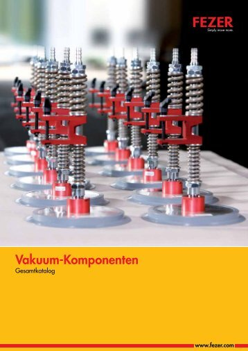 Vakuum-Komponenten - FEZER