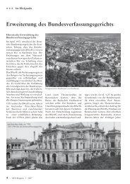 Auszug aus dem OFD-Magazin 3 / 2007, S. 4 - und ...