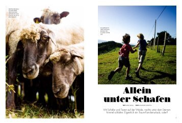 Allein unter Schafen - Alexandre Dupeyron