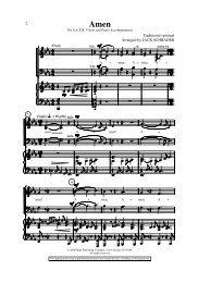 2 Arranged by JACK SCHRADER Traditional spiritual - Hope ...