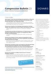 Compression Bulletin 23 - 8/12 - Sigvaris