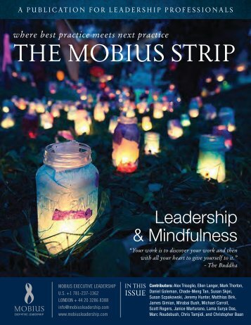 Leadership & Mindfulness - Mobius Executive Leadership