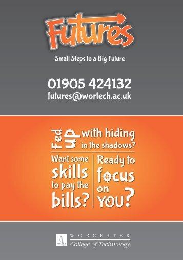 20130724 Futures A5 Flyer