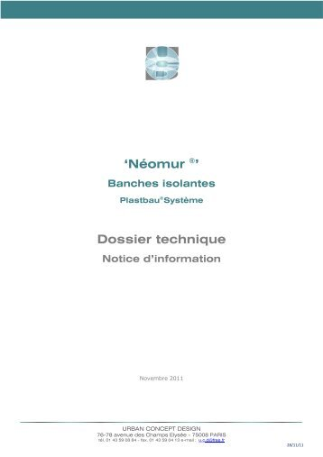doc_technique_Néomur (pdf:789 Ko) - dthX