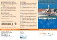 MONTENEGRO - Raiffeisenbank Weissacher Tal eG
