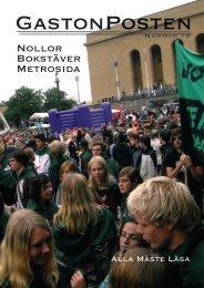 Nollor Bokstäver Metrosida - Dokument för KfKb