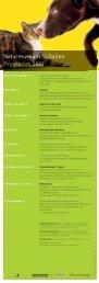 Jahresprogramm 2013 - Naturmuseum St.Gallen
