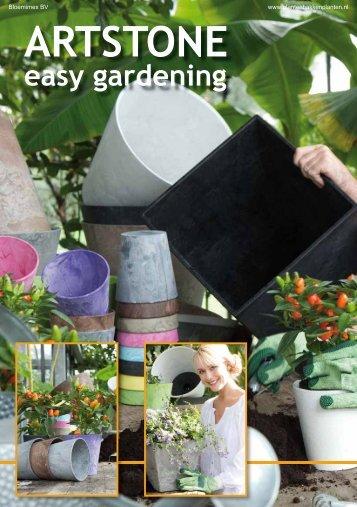Artstone brochure - Plantenbakken en planten