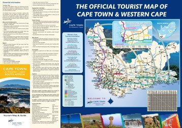 THE OFFICIAL TOURIST MAP OF CAPE TOWN ... - Wesgro