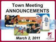Announcements - Grapevine - Las Positas College