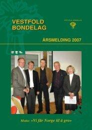 Årsmelding 2007 - Norges Bondelag