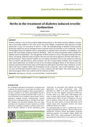 Herbs in the treatment of diabetes induced erectile dysfunction
