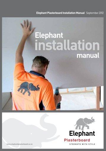 Installation - Elephant Plasterboard