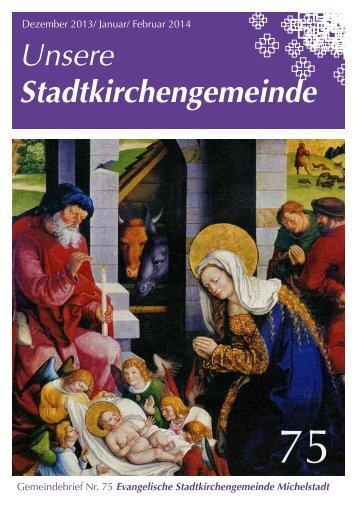 Unsere Stadtkirchengemeinde - Stadtkirche Michelstadt