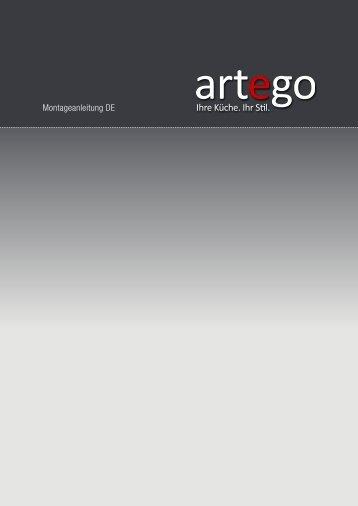 Montageanleitung DE - artego Küchen GmbH & Co. KG