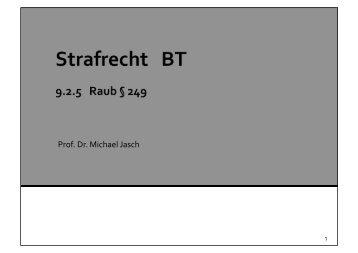 Prof. Dr. Michael Jasch