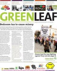 GreenLeaf44 Spring 2013 PDF - Brighton & Hove Green Party