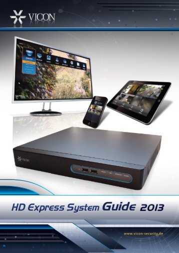 HD Express System Guide - Vicon