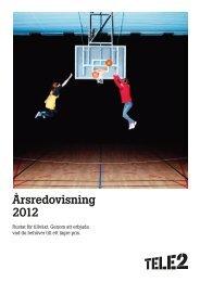 Ladda ner Årsredovisning 2012 som PDF - Tele2
