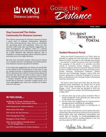 Newsletter - Western Kentucky University