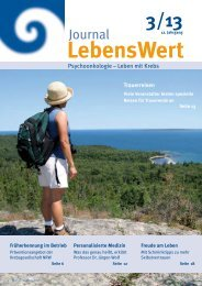 Journal - LebensWert eV