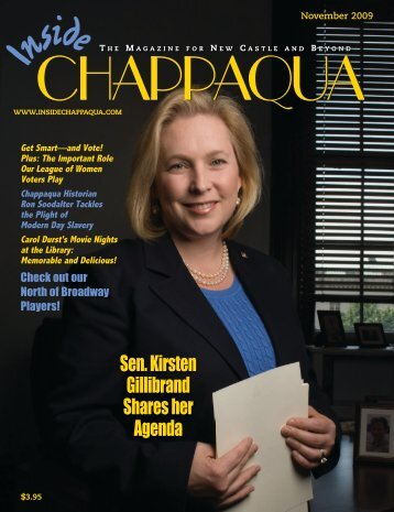 Download the November 2009 issue (PDF) - Inside Chappaqua